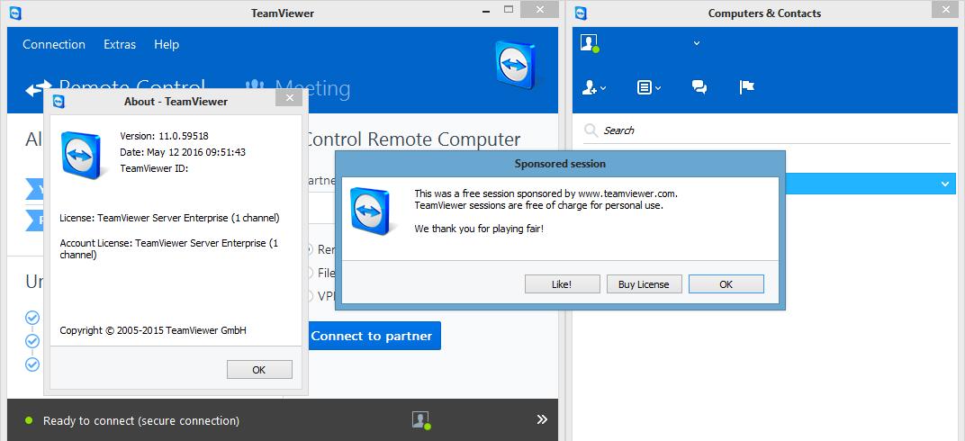 TeamViewer 11.0.59518 - News \u0026 Updates - nsane.forums