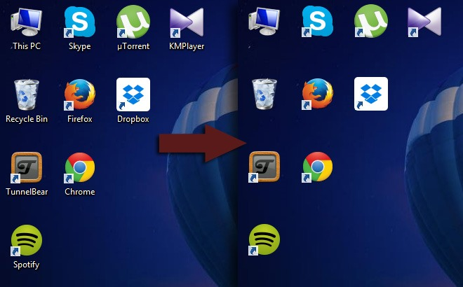 Hide All desktop Icon Name in windows 10 - Software Chat