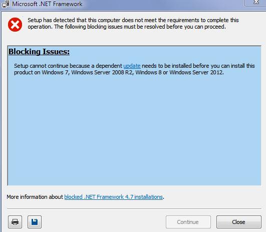 net framework 4.7 2 windows 7 64 bit offline installer