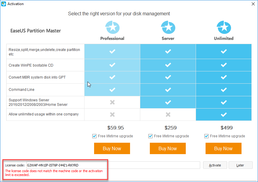 licence code for easeus partition master 12.9