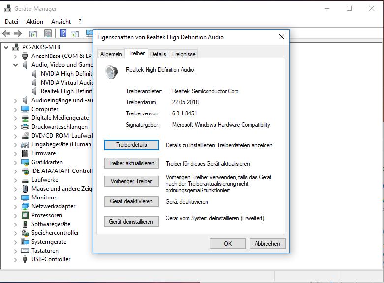 Realtek HD Audio Driver 6 0 1 8451 WHQL - Software Updates - nsane