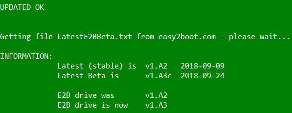 Easy2Boot 1 A3 - Software Updates - nsane forums