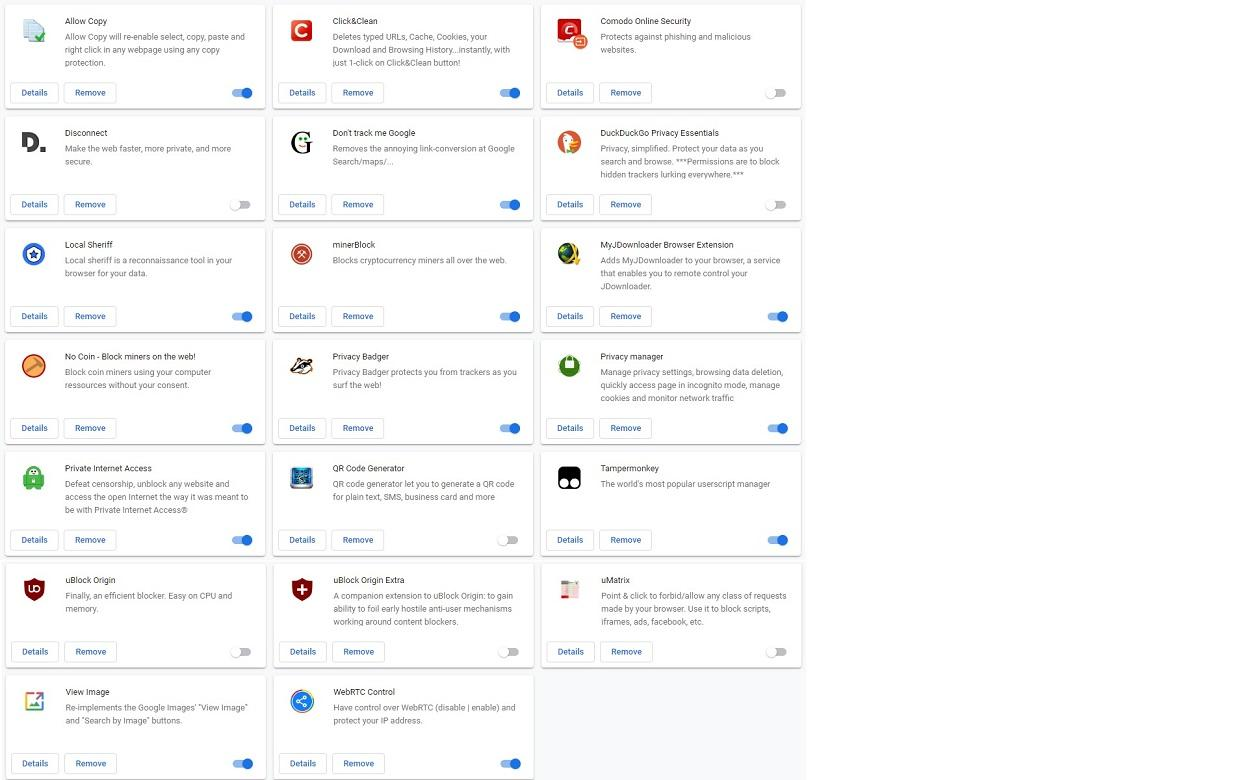 Chrome Extensions: What do you use? - Software Chat - nsane forums
