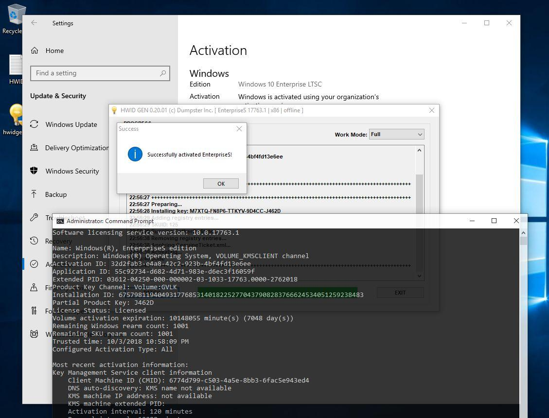 Windows 10] Digital License (HWID) & KMS38™ Generation - Page 45