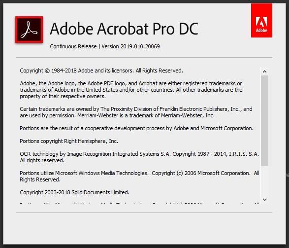 Adobe Acrobat Pro DC 2019 010 20064 - Page 2 - Software