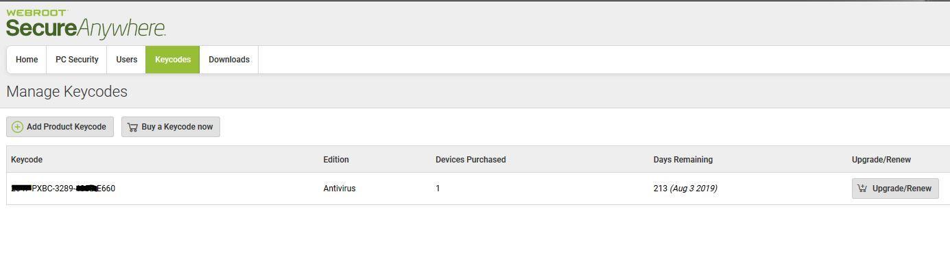 Webroot SecureAnywhere Antivirus 730 days - Giveaways - nsane forums
