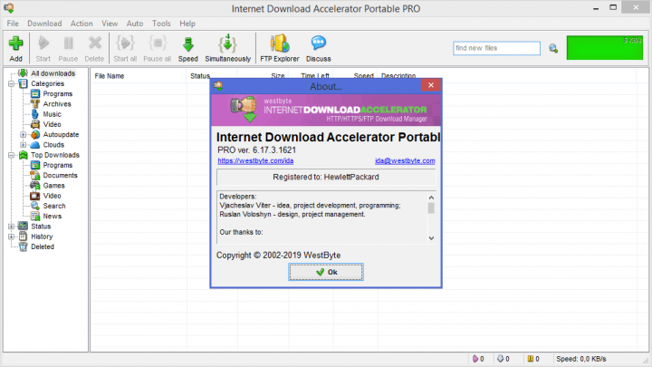 Internet Download Accelerator Pro 6 17 4 1625 + Portable - Software
