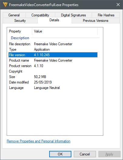 Freemake Video Converter 4 1 10 245 - Software Updates