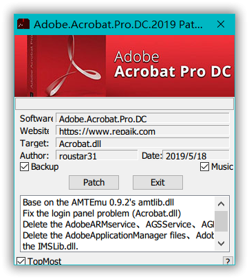 Adobe Acrobat Pro DC 2019 012 20034 Update Only - Software