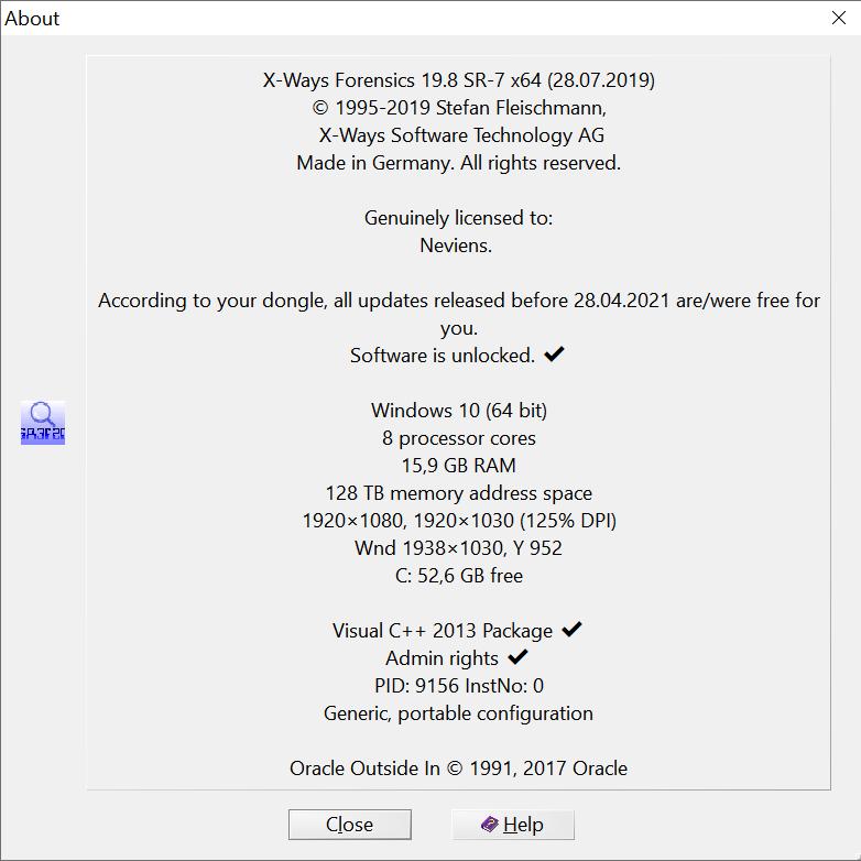 WinHex 19 8 SR-4 (x86/x64) - Software Updates - nsane forums